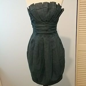 Strapless dress spring/summer